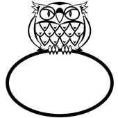 Drawing of Illustration of an eurasian eagle owl jca0013.