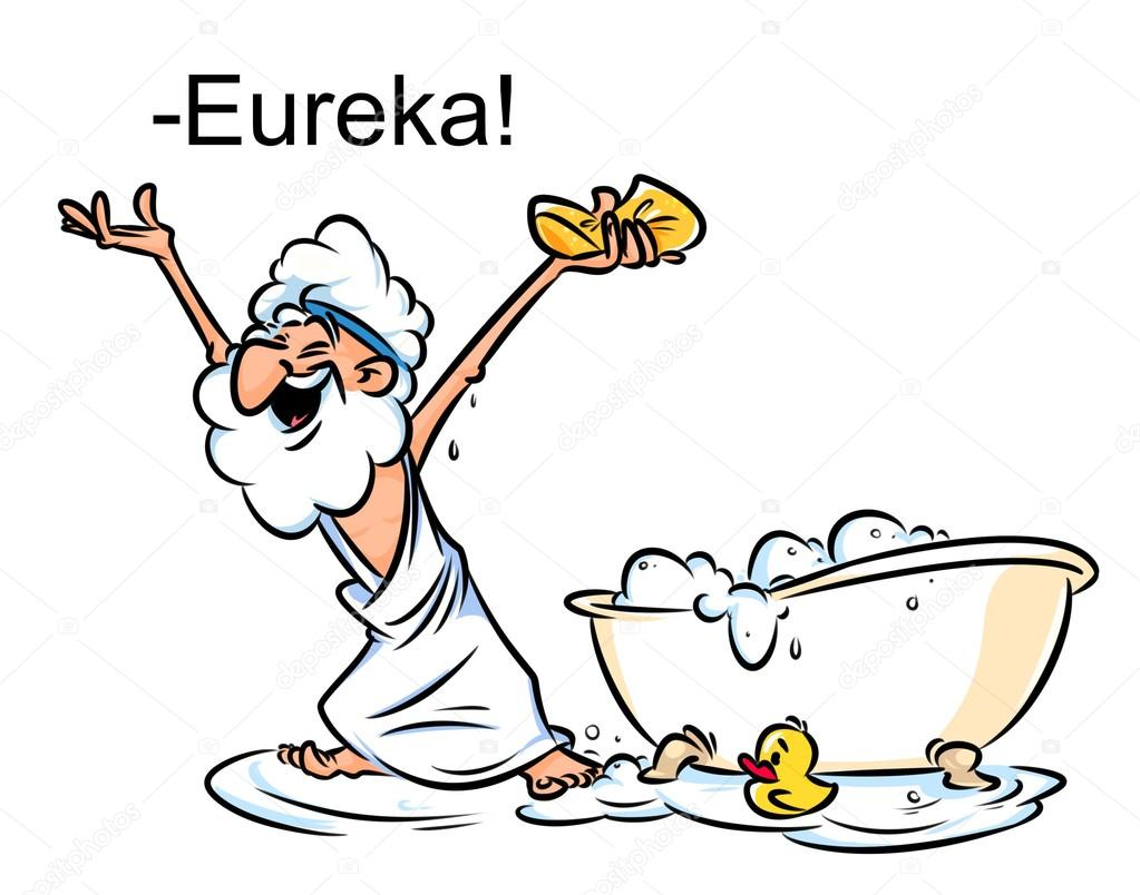 Clipart: archimedes cartoon.