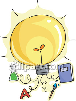 Eureka and chemistry clipart image.