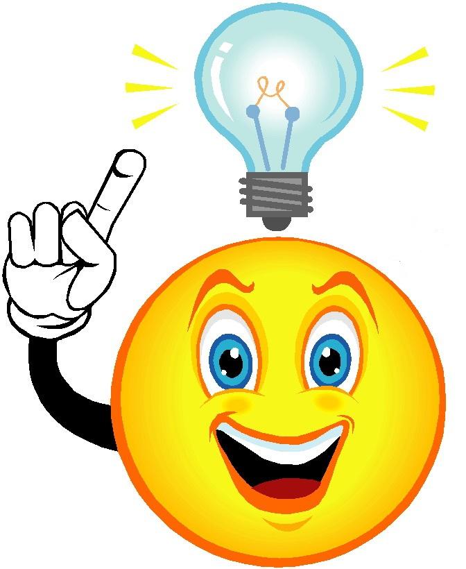 Eureka Light Bulb Clipart.