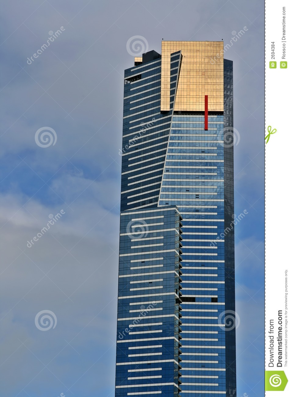 Eureka Tower Stock Images.