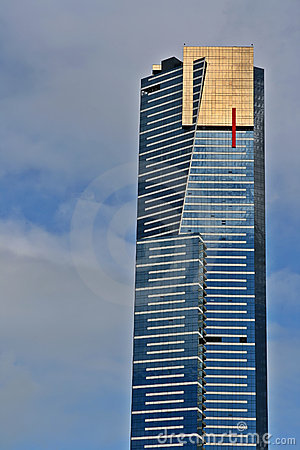 Eureka Tower Melbourne Stock Photography.