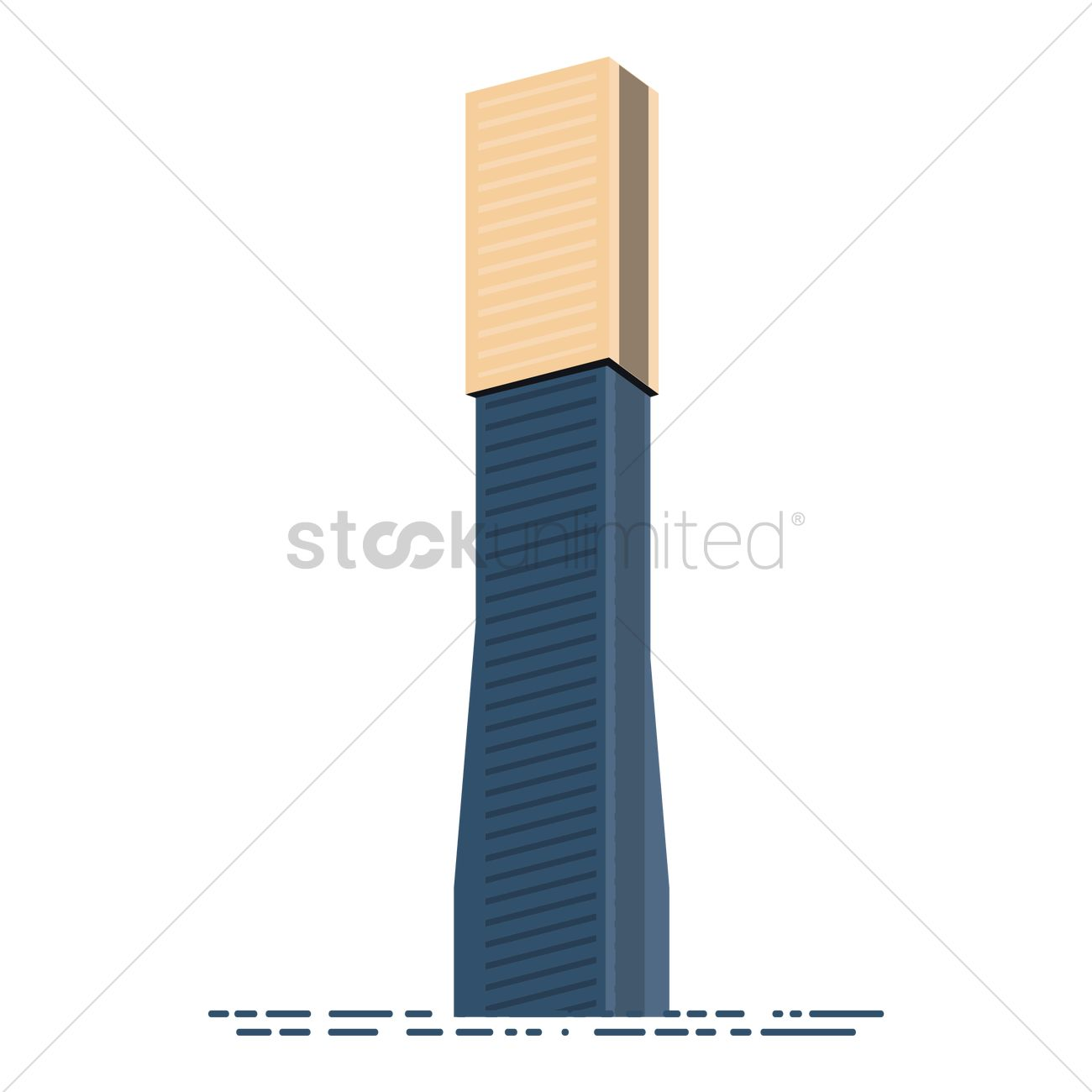 Eureka tower Vector Image.