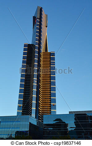 Stock Photo of Eureka Tower.
