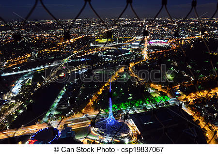Stock Image of Eureka Tower Observation Deck (Eureka Skydeck 88.