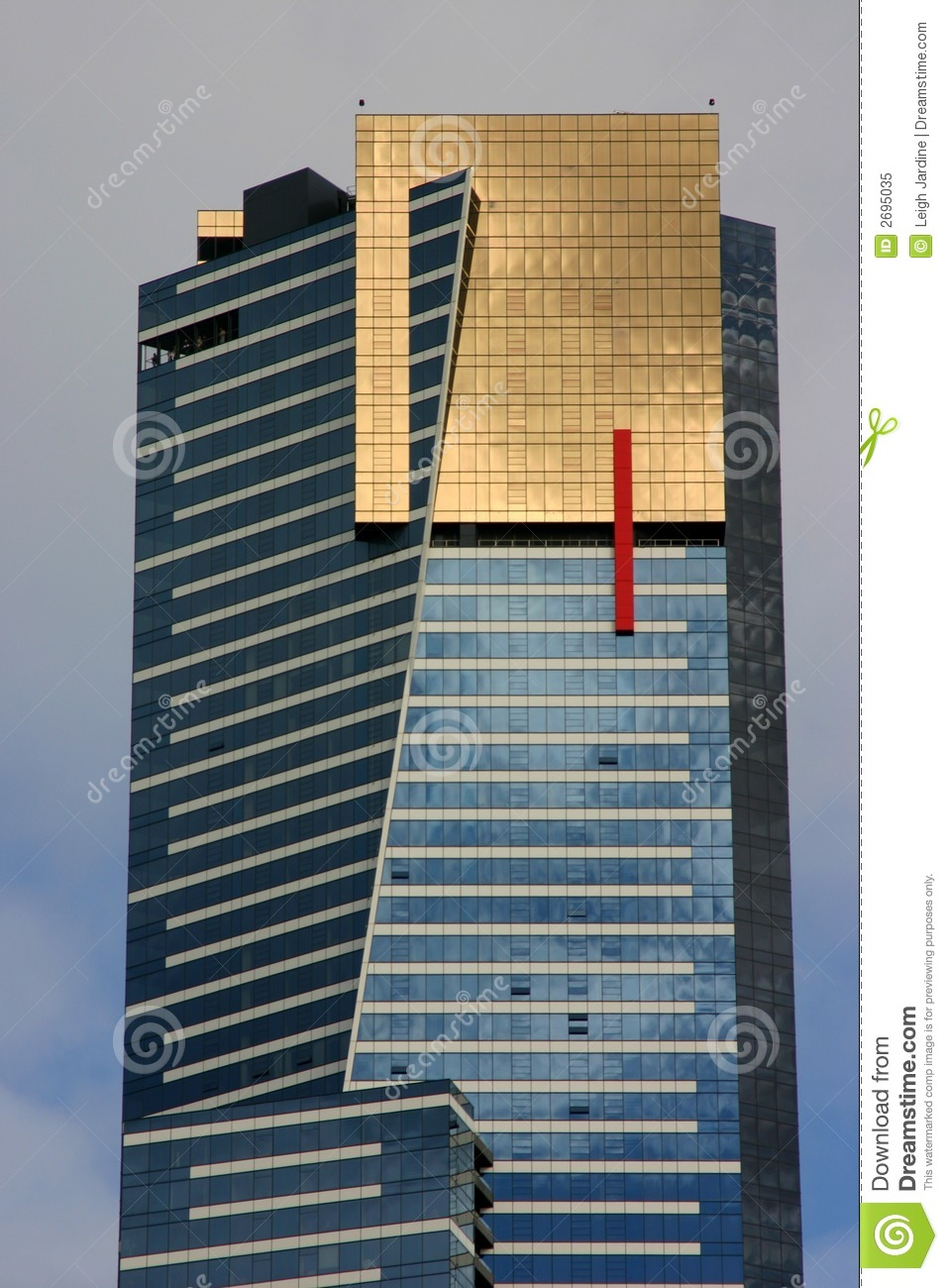 Eureka Tower Royalty Free Stock Photo.