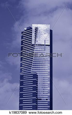 Stock Photograph of Eureka Tower.