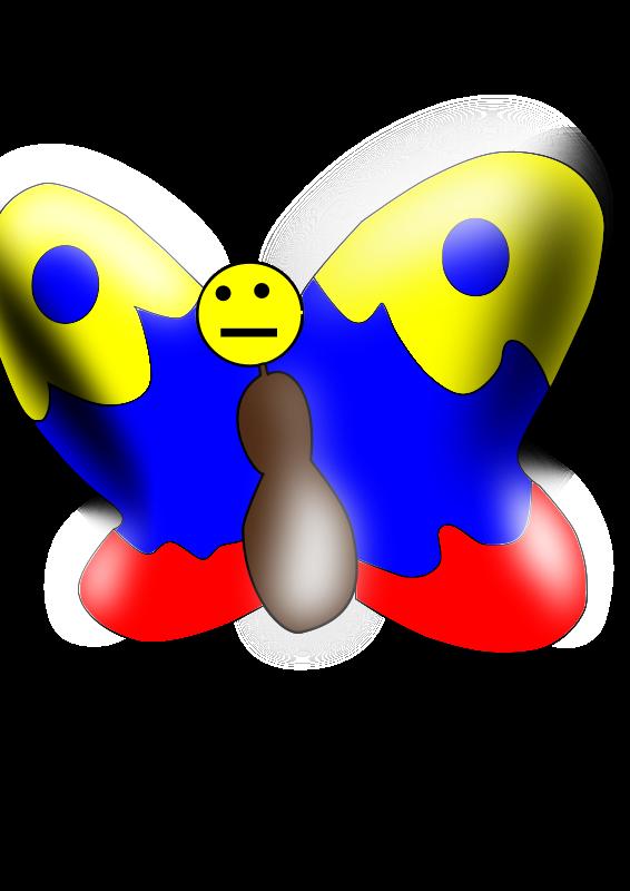 Caligo Eurilochus Clip Art Download.
