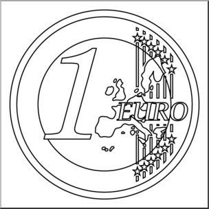 Clip Art: Euro B&W.