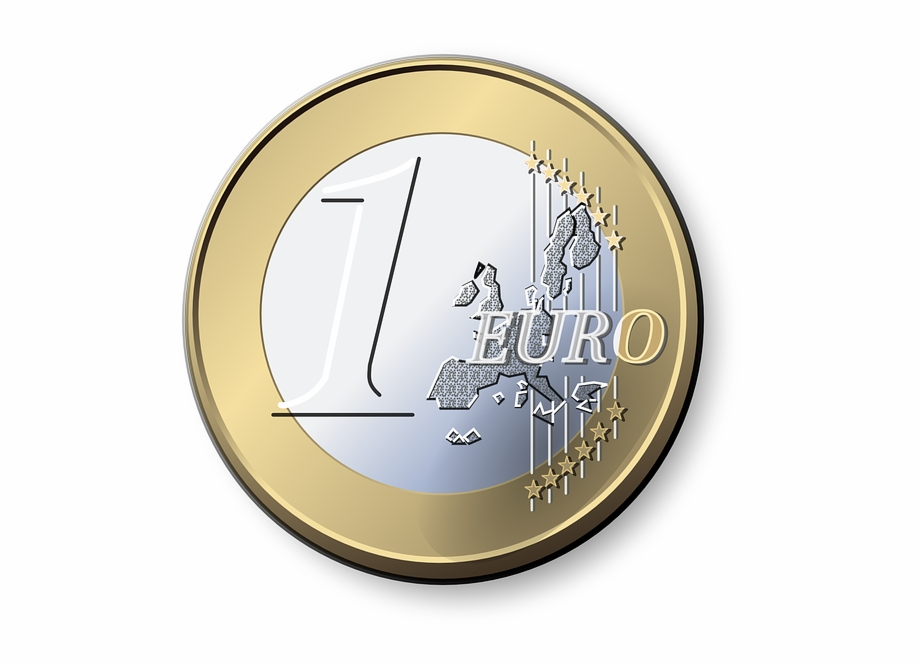 Euro, Coin, Currency, Europe, Money, Wealth, Business.