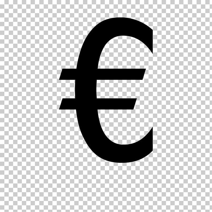 Euro sign Icon, Euro icon PNG clipart.