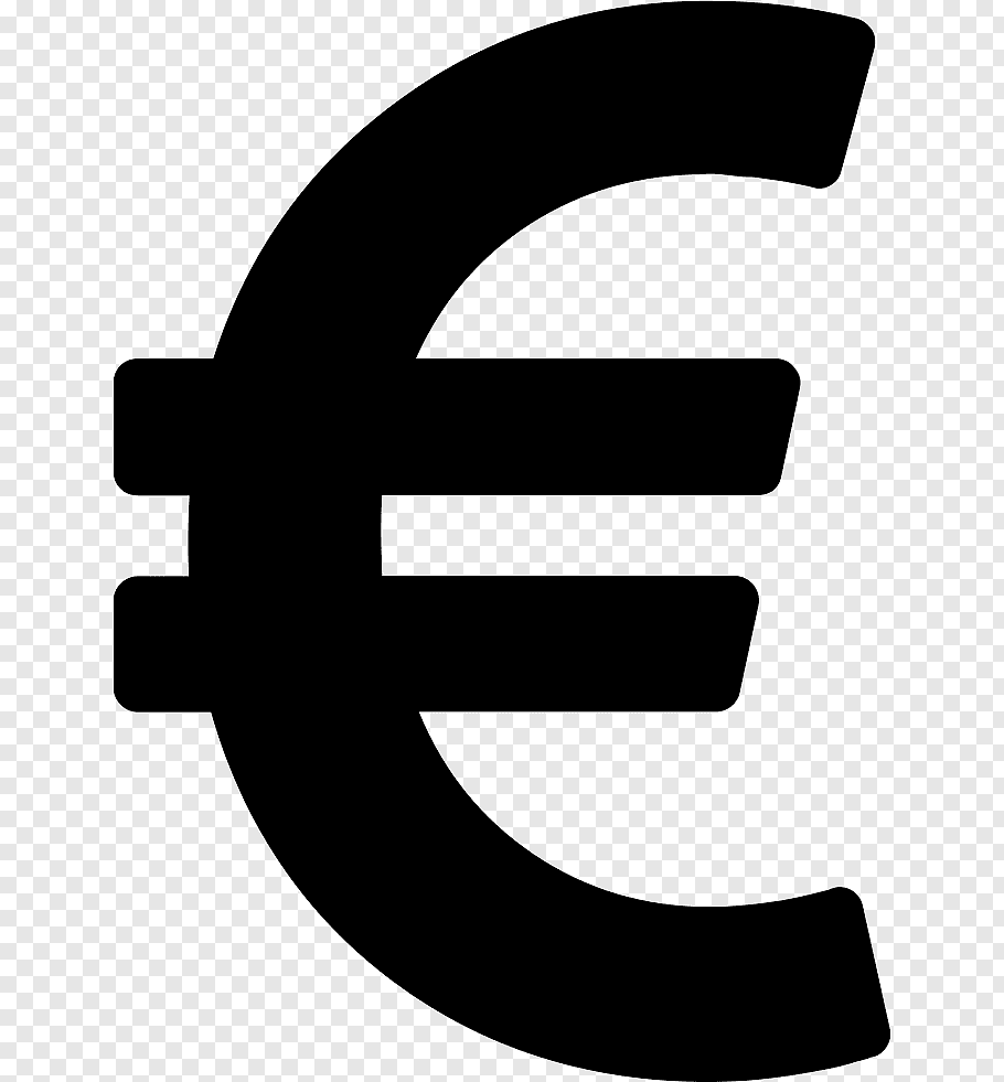 Euro icon illustration, Euro sign Currency symbol, euro.