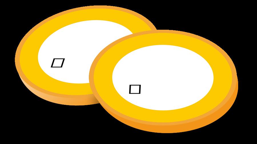 Euro Coins SVG Vector file, vector clip art svg file.