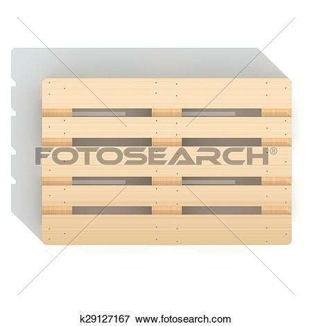 Stock Illustration of Euro pallet k29127167.