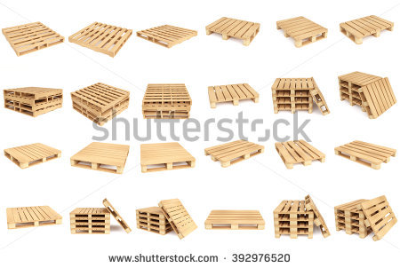 Pallet Stock Photos, Royalty.