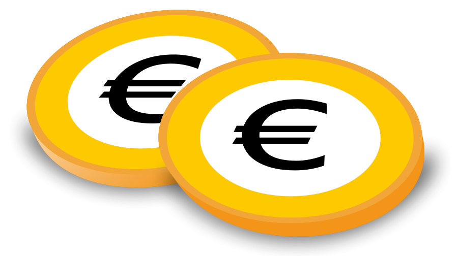 Free clipart euro sign.