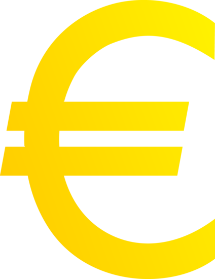Euro sign clipart - Clipground
