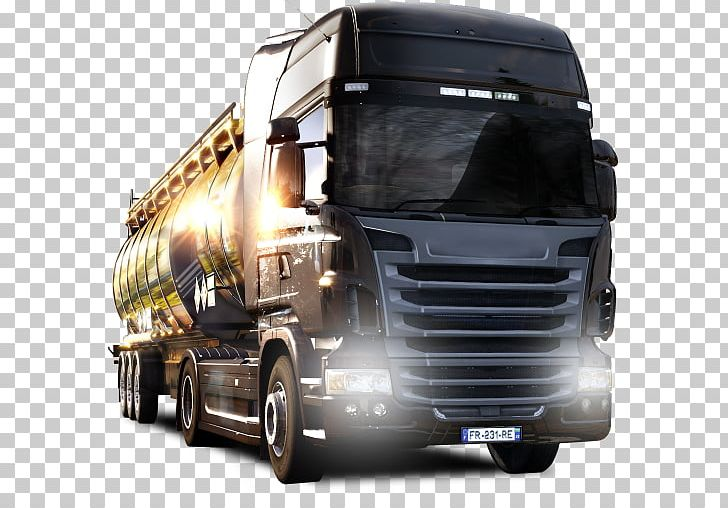 Euro Truck Simulator 2 American Truck Simulator Video Game.