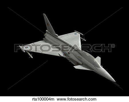 Drawings of Eurofighter model. rta100004m.