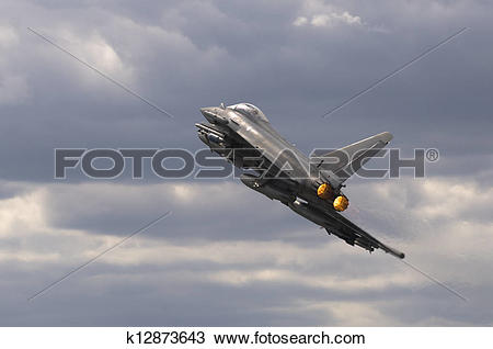 Stock Photo of Eurofighter Typhoon Aircraft k12873643.