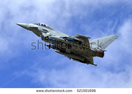 Eurofighter Typhoon Stock Images, Royalty.