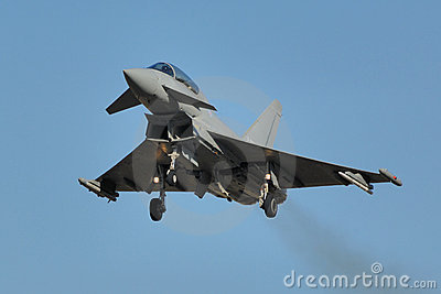 Eurofighter Typhoon Stock Image.