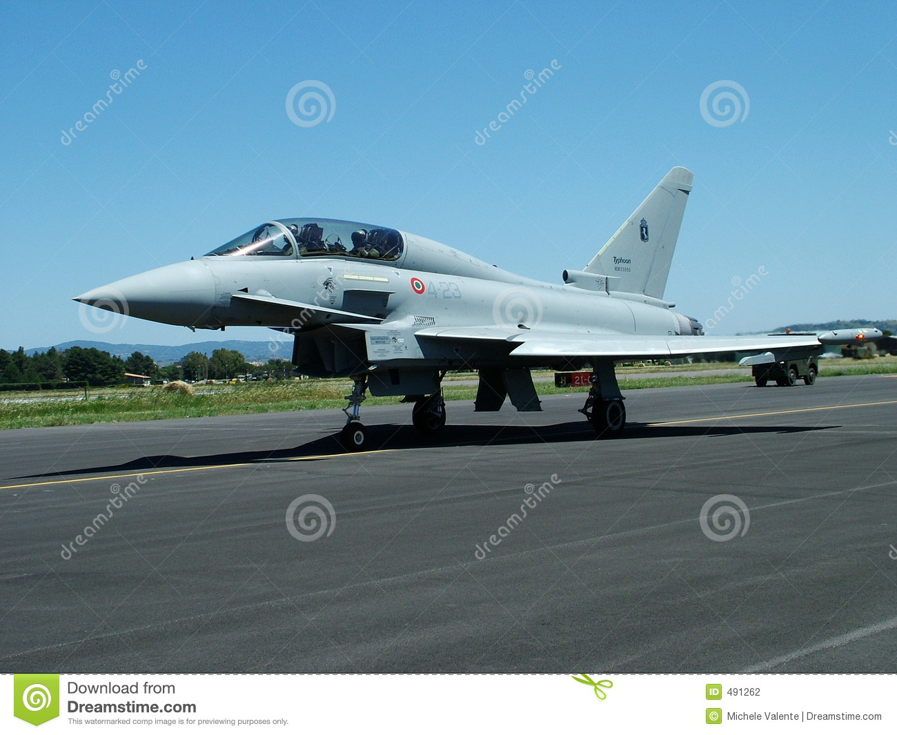 Eurofighter Typhoon Stock Photography.
