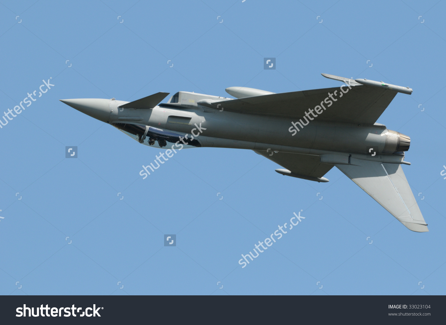 Eurofighter (Typhoon) Jet Stock Photo 33023104 : Shutterstock.