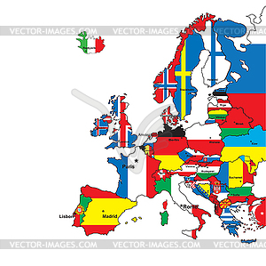 Europe Clipart.
