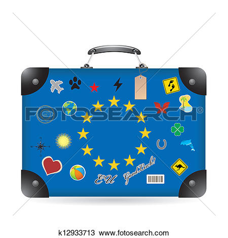 Clipart of Europa k12933713.