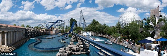Germany's biggest theme park Europa.