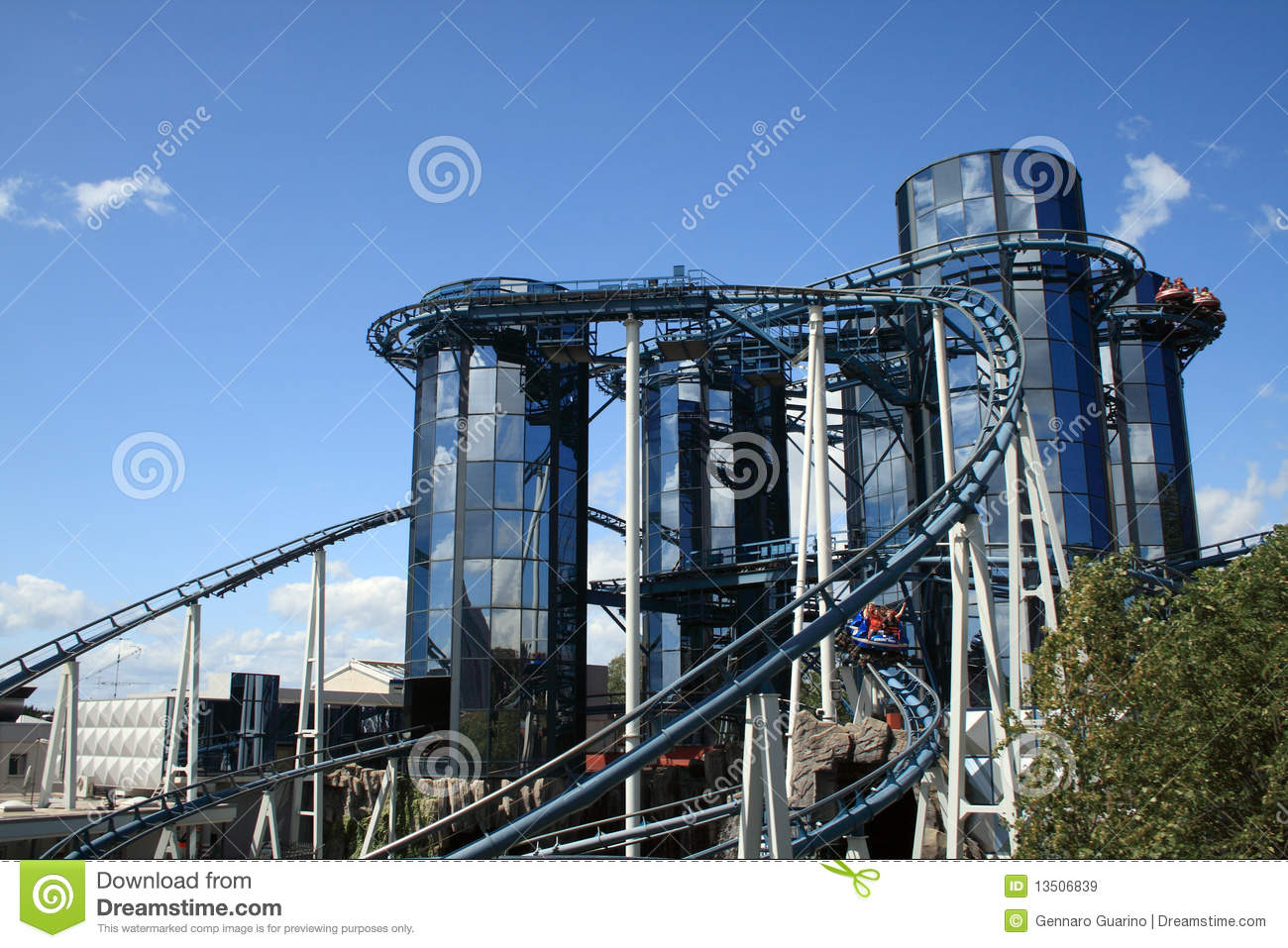 Europa Park Editorial Stock Image.