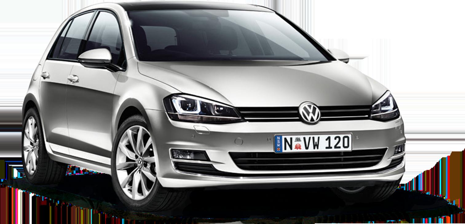 Compact car Europcar Volkswagen Golf Car rental.
