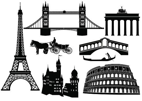 Venice Bridge Clip Art, Vector Images & Illustrations.
