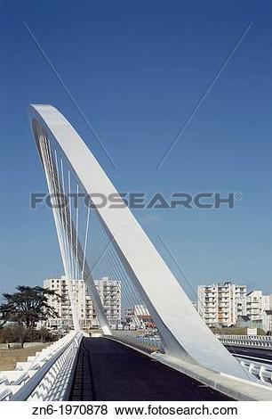 Pictures of PONT DE L?EUROPE BRIDGE OF EUROPE, ORLEANS, FRANCE.