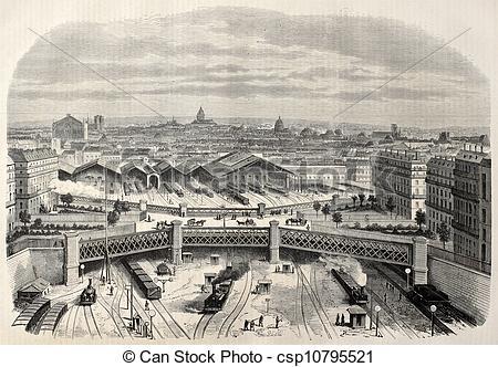 Clip Art of Place de l'Europe.