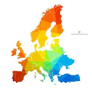 30000 clipart map of europe.