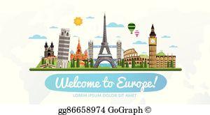 Europe Clip Art.