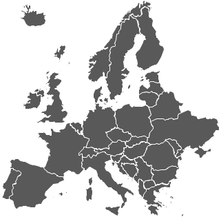 Map europe clipart.