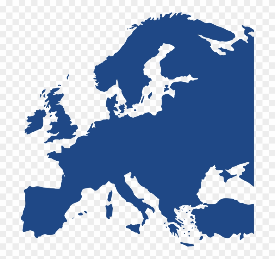Europe World Map Blank Map Vector Map.