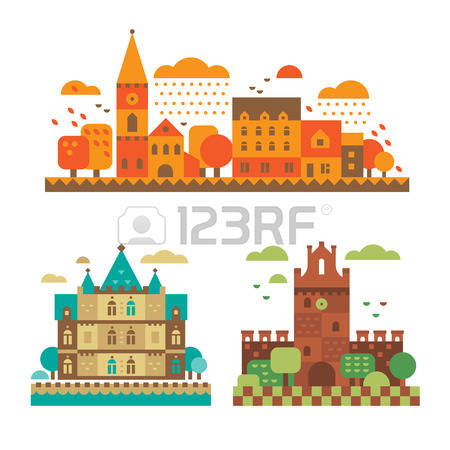 9,654 European Architecture Cliparts, Stock Vector And Royalty.