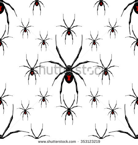 Black Widow Spider Stock Photos, Royalty.