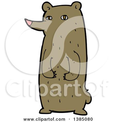 European brown bear clipart - Clipground