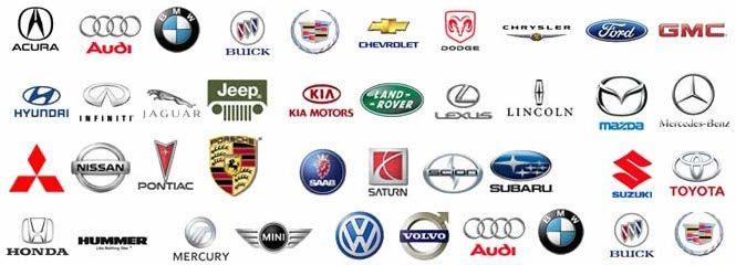 European Car Brand Logo.