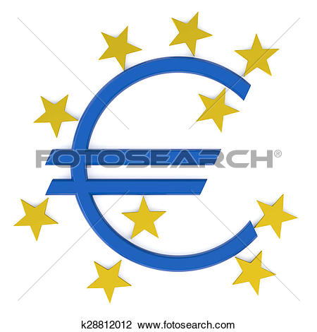 Clip Art of European Central Bank k28812012.