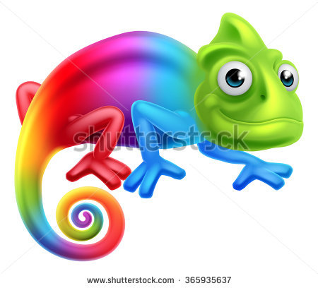 Chameleon Stock Photos, Royalty.