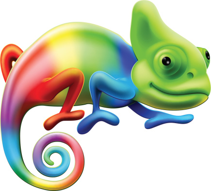 Chameleon Clip Art, Vector Images & Illustrations.