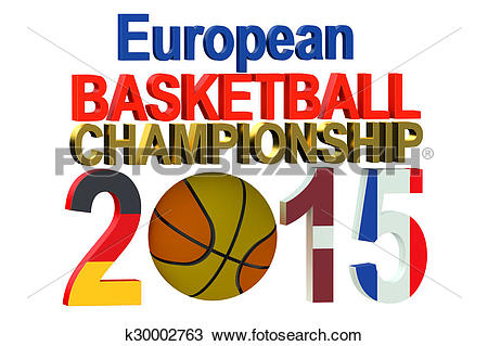 Drawing of Basketball European Championship k30002763.
