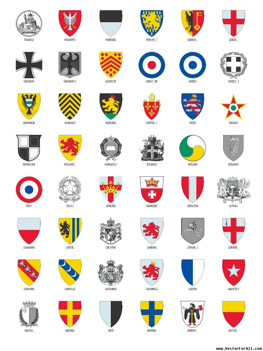 European Clip Art.