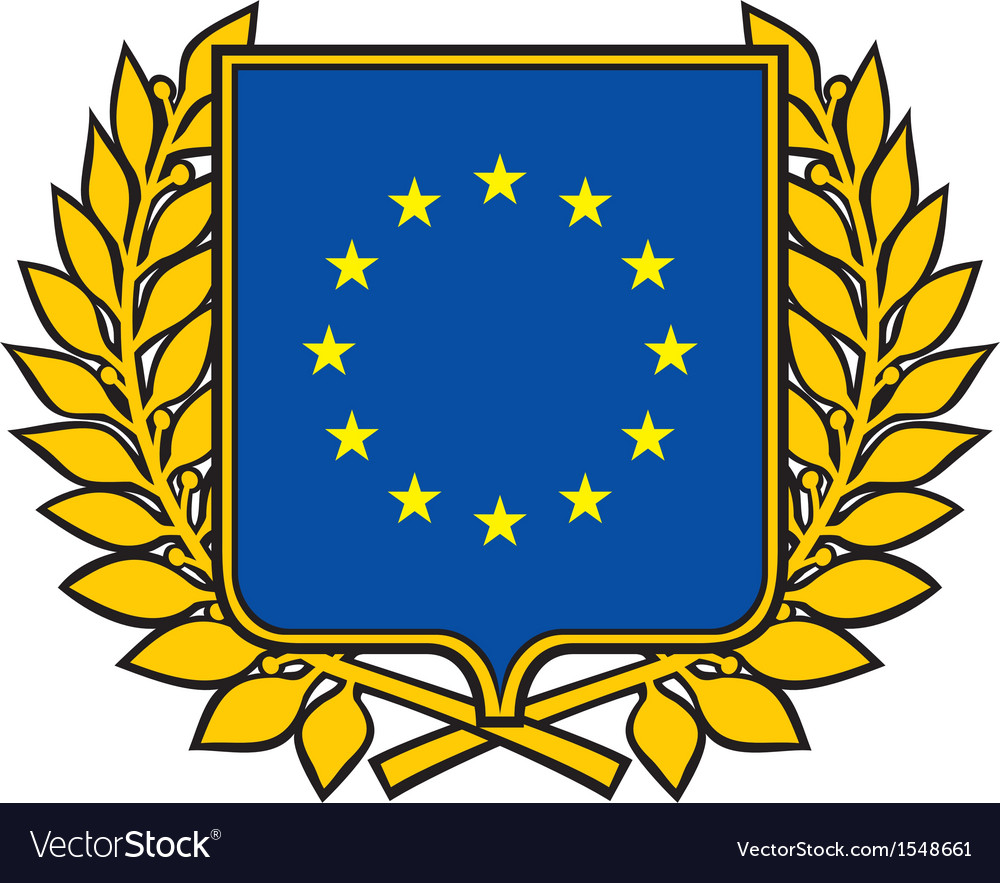 European union emblem.